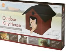 K&H Pet Products Outdoor Kitty House Unheated - Barn Red Kh3995
