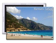Marmaris Turkey Beach & Sea - Souvenir Fridge Magnet