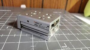 SMC Dual Rod Slide Table, MXS16-20 / 16mm Bore / 20mm Stroke