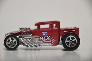 Hot Wheels 2007 Pepsi NEX JAPAN Exclusive Bone Shaker w/5 spork loose rare VHTF