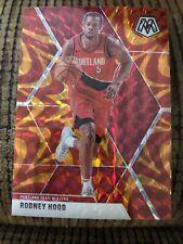 2019-20 Panini Mosaic Orange Prizm Rodney Hood #35