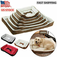 New listing Pet Dog Bed Mat Soft Warm Washable House for Cat Puppy Kennel Non-slip L Size