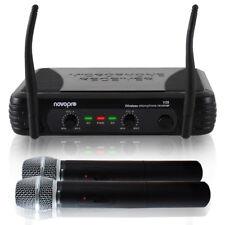 Novopro V20 VHF Wireless Microphone System & Handheld Mics SSC1662