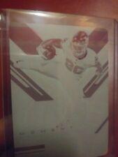 Saquon Barkley Printing Plate Score Epix Moment 1/1 Giants Magenta