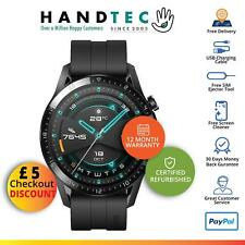Huawei Reloj GT 2 Sport 46mm Android SmartWatch, Mate Negro-Impecable A +