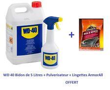 WD40 bidon 5 L degrippant ( WD-40 ) + Pulverisateur + Lingettes ArmorALL