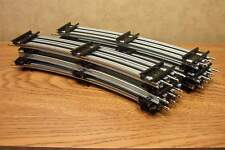 "LIONEL 42"" DIA. CURVE TUBULAR TRACK TRADITIONAL O GAUGE  12 PIECES (full Circle)"