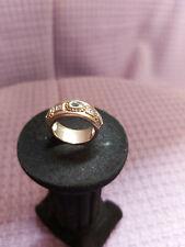 825er Silber Ring mit Schmucksteinen Gr. 18 mm - 1,8 cm