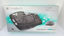 Logitech mk560 Wireless Wave Combo Plus Keyboard Mouse Unifying Receiver