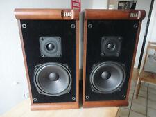 Elac EL60, 2-Wege-Hifi-Lautsprecherboxen. 60/85 W, 4-8 Ohm, Nußbaum-Dekor, Top!