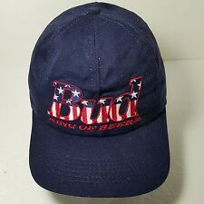 Bud King of Beers Ball Cap Bud Embroidered Red White and Blue snapback USA 1996