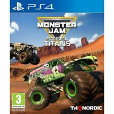 Monster Jam Steel Titans (PS4)  BRAND NEW AND SEALED - IN STOCK - QUICK DISPATCH
