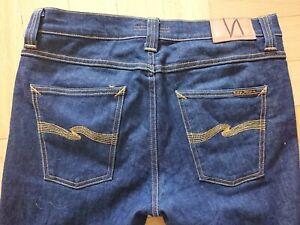 Nudie Jeans Lean Dean 32 32 blau
