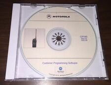 New listing Motorola Programming Software Cp185 Latest Version R02.03 & R02.06 New! Best!