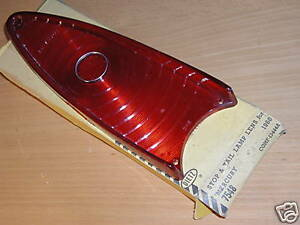 MERCURY PARK LANE MONTCLAIR NEW TAIL LIGHT LENS 1960