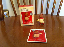 Hallmark Keepsake Ornament CALVIN CARVER Snow Cub Club Collection Christmas Bear