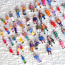 500 pcs well painted N scale 1:160 Painted People passengers Quality (19 poses)