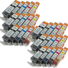 30 Pack PGI-220 CLI-221 INK For Pixma iP3600 iP4600 iP4700