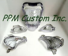 Hayabusa 08-Up Clear LED Front & LED Rear Turn Signals W' LED Tail Light