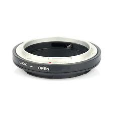 Mount Adapter for Canon FD fl lens to eos EF cámara with optical Glass cap PAL