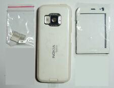 White Fascia case facia Housing faceplate Cover for Nokia N78 white -009864
