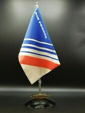 AIR FRANCE FLAG WITH STAND