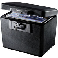 DOCUMENT SAFE FIREPROOF SentrySafe Locking File Storage Chest Fire SECURITY BOX