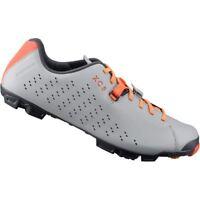 Shimano XC500 SPD MTB shoes, grey / orange, size 47
