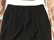 DKNY Trousers in Black USA 8 UK 10 UK 12 S 97% Wool