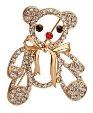 multi crystal austrian blanc Spindle cute pooh, bear golden