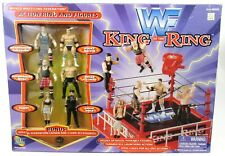 New Sealed Jakks Pacific WWF King Of The Ring Mini Wrestling Playset 1998