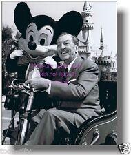 Walt Disney Disneyland Runabout Sleeping Beauty Castle Mickey Mouse NEW 8x10