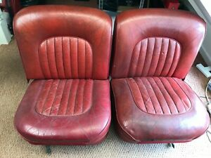 Jaguar Mk 2 Front Seats - Relisted at the request of the buyer