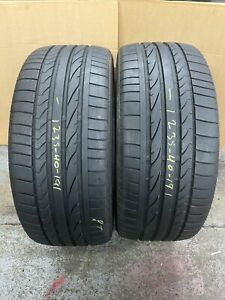 235 40 R 19 92Y AM9 Bridgestone Potenza Re050A 2x Tyres A Pair 2354019 (6+mm)