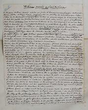 1897 William Morris Art du Livre Article manuscrit autographe Octave Uzanne