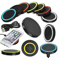 Q5 QI Wireless Charging Charger Pad for iPhone X 8 Samsung Nexus Nokia LG