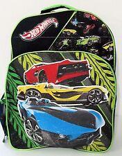 New Hot Wheels Backpack w Bonus Hot Wheels Car