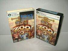 Zoo Tycoon 2: Zookeeper Collection 2 Disc Set Unused Microsoft Windows PC CD-Rom