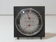 ANTIQUE 1930S-1950S AIRGUIDE JR. DASH THERMOMETER / HUMID GAUGE CHEVY FORD RARE