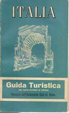 ITALIA GUIDA TURISTICA DE AGOSTINI ED. 1858