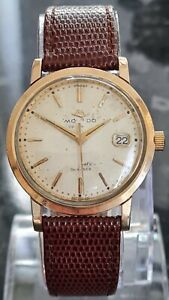 A Gents Gold Capped Movado 28 Jewels Kingmatic Sub-Sea Automatic Wristwatch
