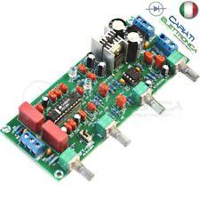 PREAMPLIFICATORE AUDIO STEREO CON LM1036 + NE5532 12V TONO VOLUME BALANCE BASSI