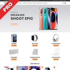 XIAOMI BRAND STORE | Automated Dropshipping Website | Internet Business For Sale