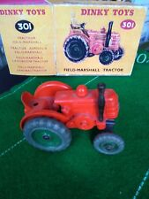 MECCANO DINKY TOYS 301 FIELD MARSHALL TRACTEUR + BOITE REPRO