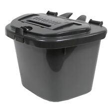 Dark Grey Kitchen Compost Caddy Bin - Food Recycling (5 Litre) 5L
