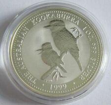 Australien 1 Dollar 1999 Kookaburra 1 Oz Silber