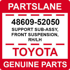48609-52050 Toyota OEM Genuine SUPPORT SUB-ASSY, FRONT SUSPENSION, RH/LH