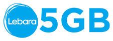 WOW 5 GB Surf Flat für jedes Handy D1 Telekom Netz Lebara Karte 28Tage gratis