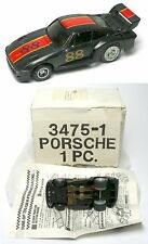 1979 Ideal TCR MK 2 Porsche Turbo Rare #88 Black & Red Slot Less Car 3475-1 MIB