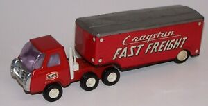 Texco Cragstan Fast Freight Pressed Steel Friction Truck Vintage